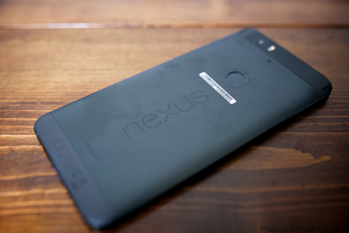 Nexus6P裏側