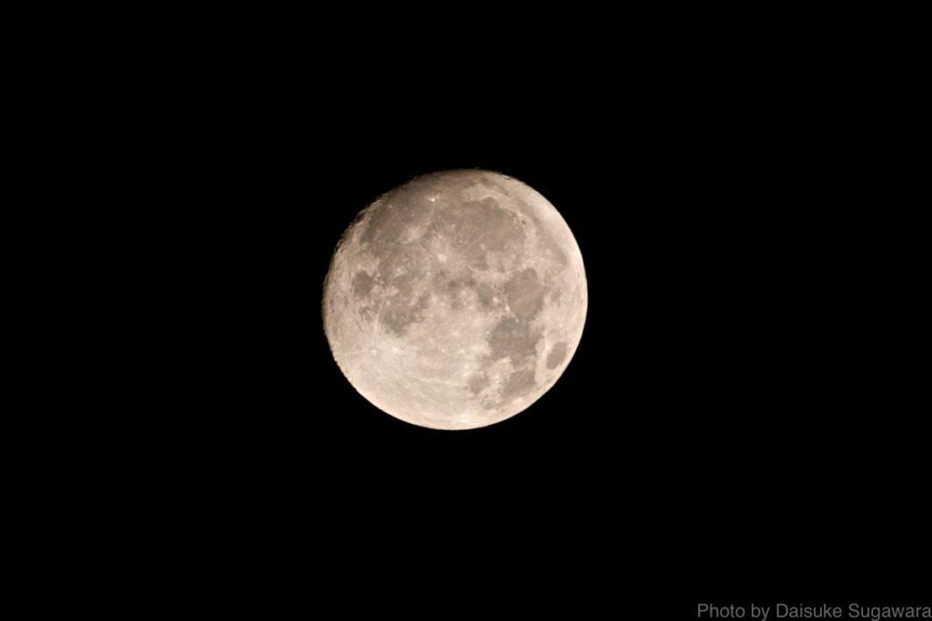 月WB曇り
