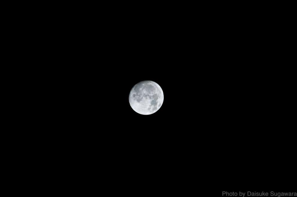 月トリミング前