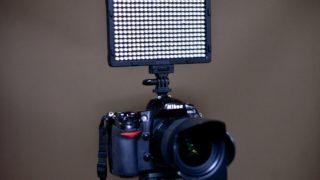 高コスパのビデオライト!Craphy『PT-308』をレビュー