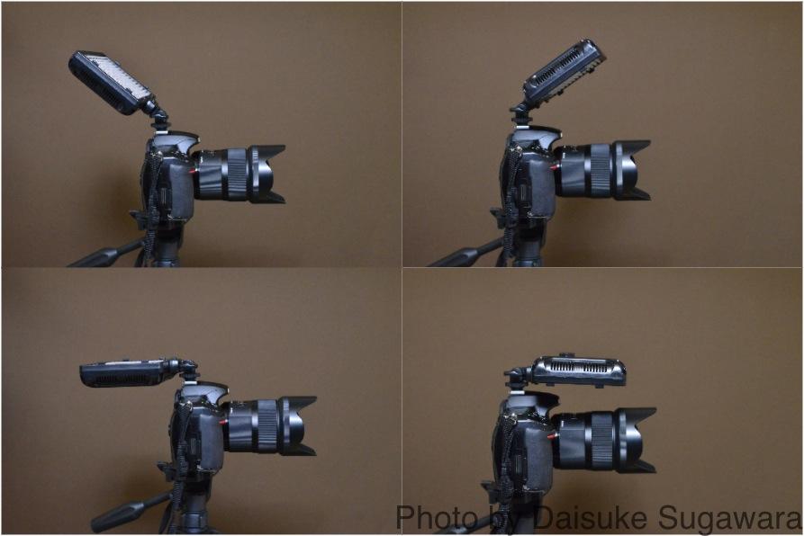Craphy PT-308の角度を変更した写真