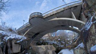 仙台の奥座敷「秋保」の磊々峡(らいらいきょう)に行って雪景色を撮ってきた