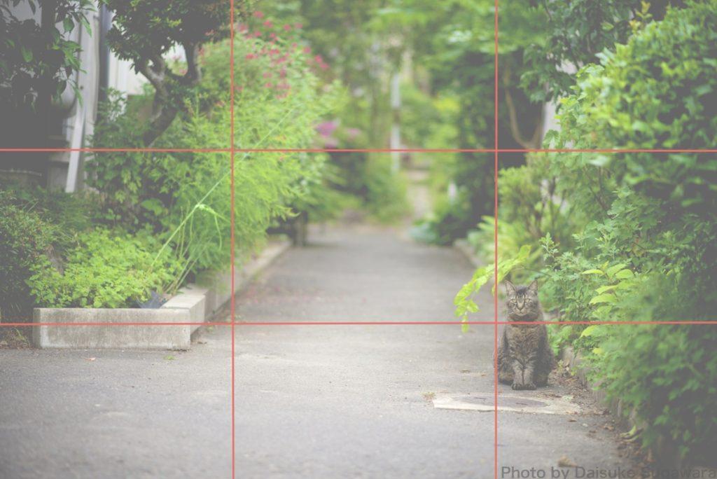 三分割構図2