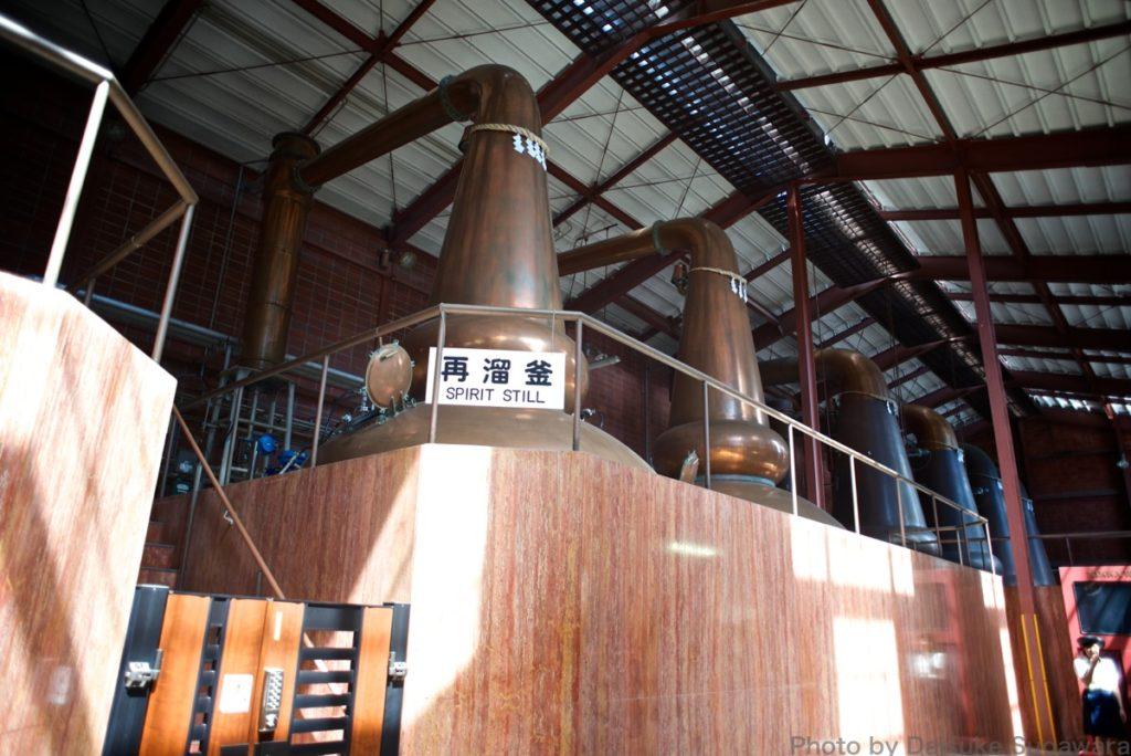 ニッカウイスキー仙台工場の蒸溜所