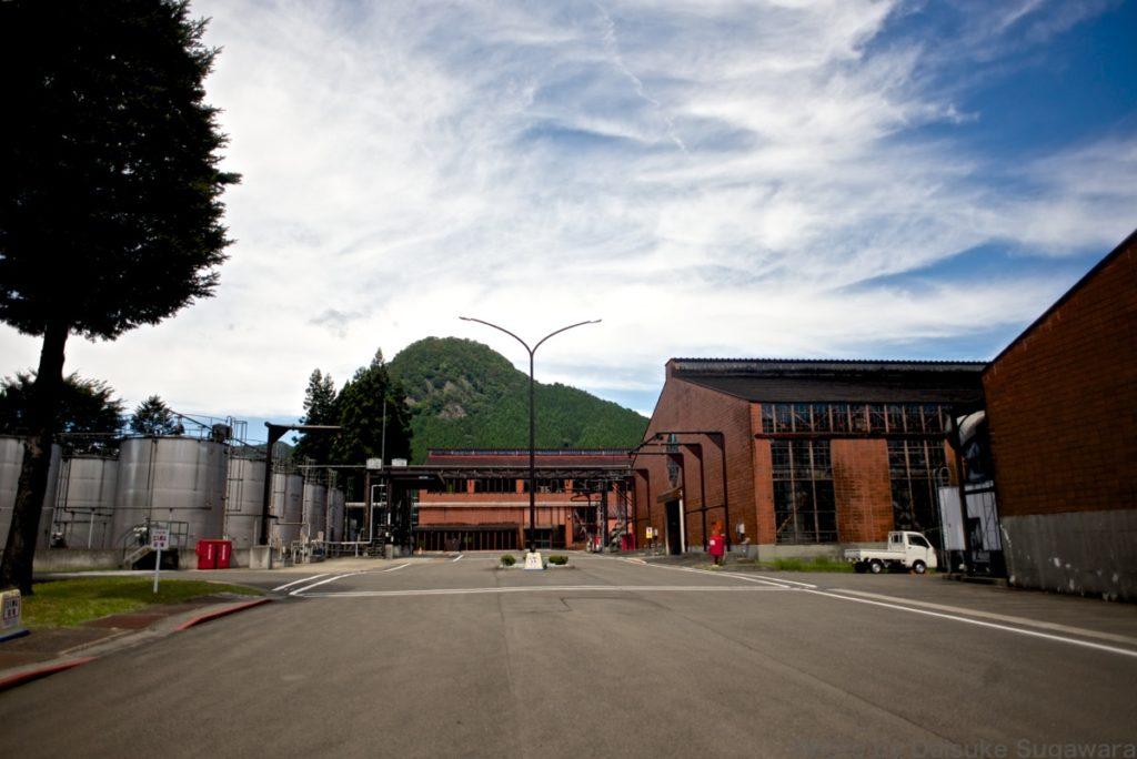 ニッカウイスキー仙台工場外観